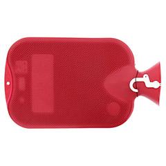 FASHY Wärmflasche Doppellamelle cranberry 6460 42 1 Stück - Rückseite