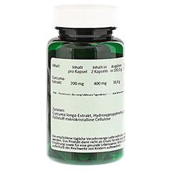 CURCUMA 200 mg Kapseln 60 Stück - Rückseite