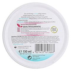 LAVERA basis sensitiv Creme dt 150 Milliliter - Rückseite