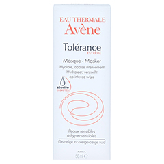 AVENE Tolerance Extreme Maske DEFI 50 Milliliter - Rückseite