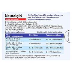 Neuralgin extra Ibu-Lysinat 20 Stück - Rückseite