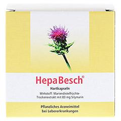 HepaBesch Hartkapseln 100 Stück N3 - Rückseite