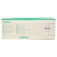 EXADORAL B.Braun orale Spritze 10 ml 100 Stück - Rückseite