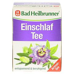 BAD HEILBRUNNER Einschlaf Tee Filterbeutel 8x2.0 Gramm - Rückseite