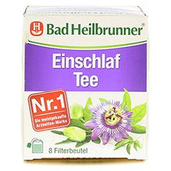 BAD HEILBRUNNER Einschlaf Tee Filterbeutel 8x2.0 Gramm - Oberseite