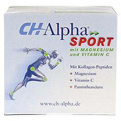 CH ALPHA Sport Trinkampullen 30 Stück - Oberseite