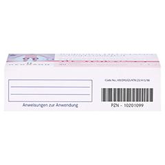 Ibuprofen Heumann Schmerztabletten 400mg 30 Stück N2 - Unterseite