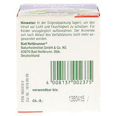 BAD HEILBRUNNER Einschlaf Tee Filterbeutel 8x2.0 Gramm - Unterseite