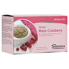 SIDROGA Wellness Mate-Cranberry Tee Doppelkammerb. 20x2.0 Gramm