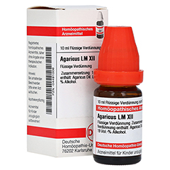LM AGARICUS XII Dilution 10 Milliliter N1