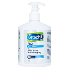 CETAPHIL Pro Itch Control Clean Handreinigung Cr. 500 Milliliter