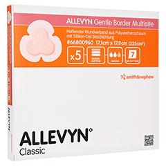 ALLEVYN Gentle Border Multisite 17,1x17,9 cm SV sk 5 Stück