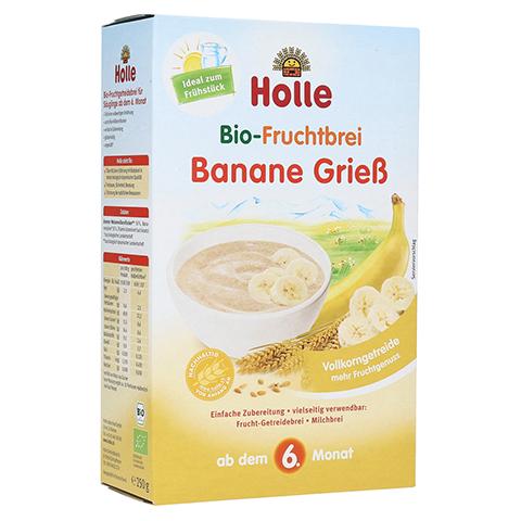 HOLLE Bio Fruchtbrei Banane Grieß 250 Gramm
