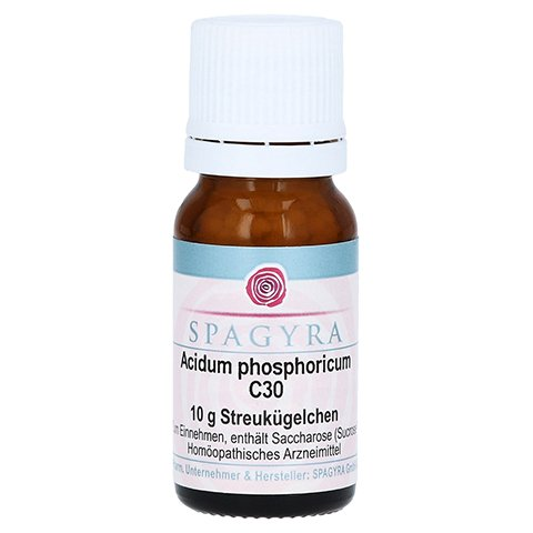 ACIDUM PHOSPHORICUM C 30 Globuli 10 Gramm N1