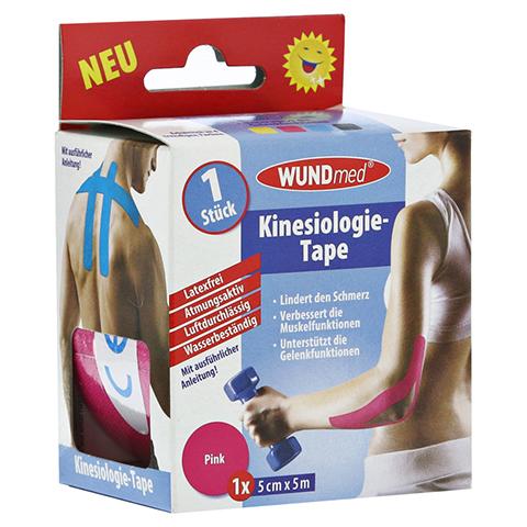 KINESIOLOGIE Tape 5 cmx5 m pink 1 Stück