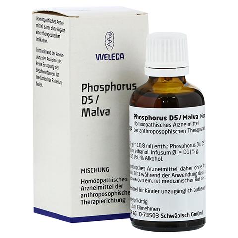PHOSPHORUS D 5/Malva Dilution 50 Milliliter N1