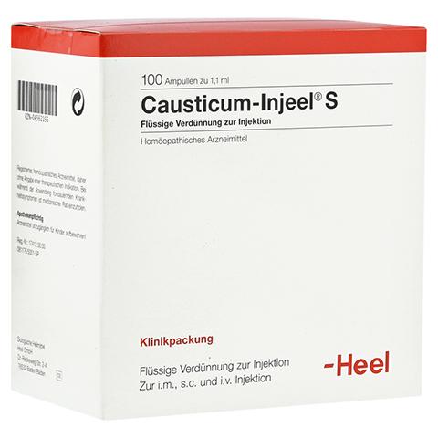 CAUSTICUM INJEEL S Ampullen 100 Stück N3