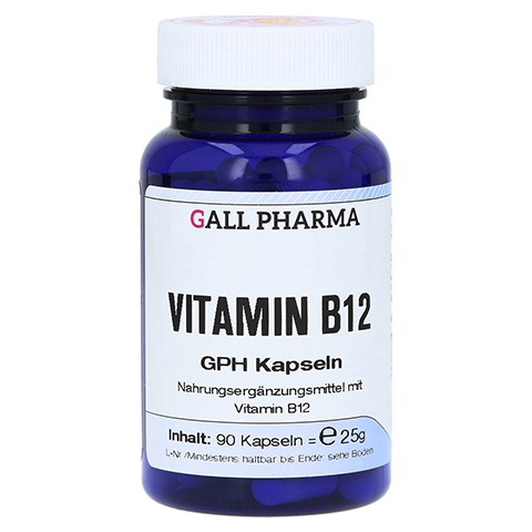 VITAMIN B12 GPH 3 µg Kapseln 90 Stück