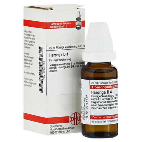 HARONGA D 4 Dilution 20 Milliliter N1