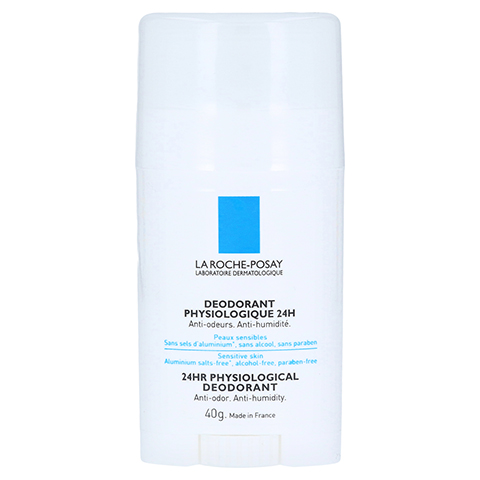 La Roche-Posay Physiologisches Deodorant 24h Stick 40 Gramm