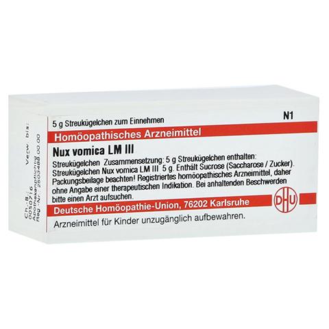 LM NUX vomica III Globuli 5 Gramm N1