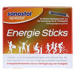 SANOSTOL spezial Energie Sticks 20 Stück - Vorderseite
