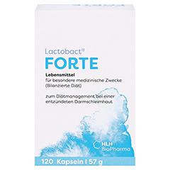 LACTOBACT Forte magensaftresistente Kapseln 120 Stück - Vorderseite