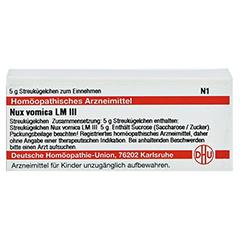 LM NUX vomica III Globuli 5 Gramm N1 - Vorderseite