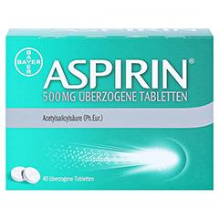Aspirin 500mg 40 Stück - Vorderseite