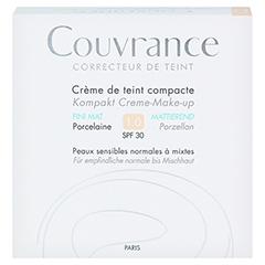 Avène Couvrance Kompakt Creme-Make-up mattierend porzellan 10 Gramm - Vorderseite