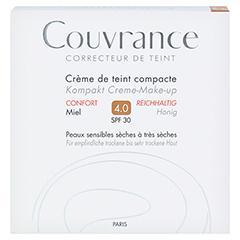 AVENE Couvrance Kompakt Cr.-Make-up reich.honig 4 10 Gramm - Vorderseite