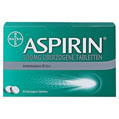 Aspirin 500mg 80 Stück - Vorderseite