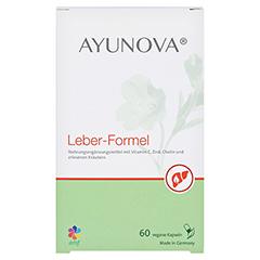 AYUNOVA Leber-Formel Kapseln 60 Stück - Vorderseite