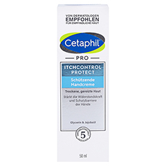 Cetaphil Pro Itch Control Protect Handcreme 50 Milliliter - Vorderseite