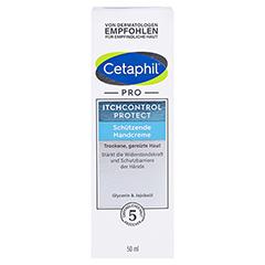 Cetaphil Pro Itch Control Protect Handcreme 50 Milliliter - Vorderseite