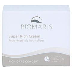 BIOMARIS super rich cream 50 Milliliter - Vorderseite