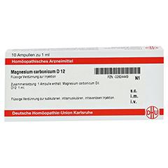 MAGNESIUM CARBONICUM D 12 Ampullen 10x1 Milliliter N1 - Vorderseite