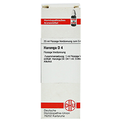 HARONGA D 4 Dilution 20 Milliliter N1 - Vorderseite