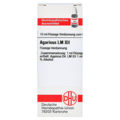 LM AGARICUS XII Dilution 10 Milliliter N1 - Vorderseite