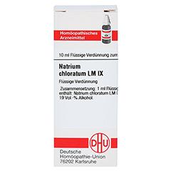 LM NATRIUM chloratum IX Dilution 10 Milliliter N1 - Vorderseite
