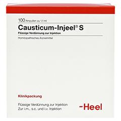 CAUSTICUM INJEEL S Ampullen 100 Stück N3 - Vorderseite