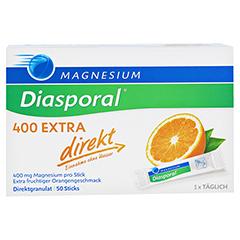 Magnesium Diasporal 400 Extra direkt Granulat 50 Stück - Vorderseite