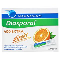 MAGNESIUM DIASPORAL 400 Extra direkt Granulat 20 Stück - Vorderseite