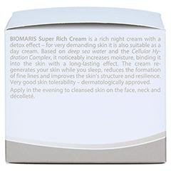 BIOMARIS super rich cream 50 Milliliter - Linke Seite