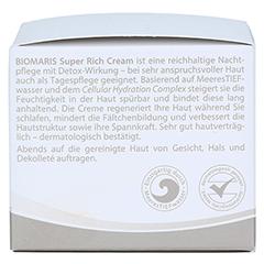 BIOMARIS super rich cream 50 Milliliter - Rechte Seite