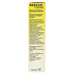 BACH ORIGINAL Rescue Creme 30 Milliliter - Rechte Seite