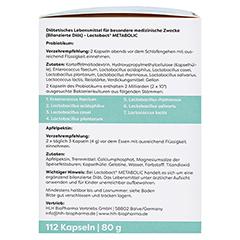 LACTOBACT Metabolic Kapseln 112 Stück - Rechte Seite