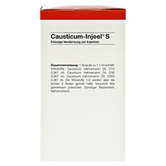 CAUSTICUM INJEEL S Ampullen 100 Stück N3 - Rechte Seite
