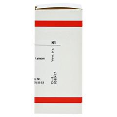 LYCOPUS VIRGINICUS D 12 Tabletten 80 Stück N1 - Rechte Seite
