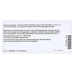 FEL GL D 8 Ampullen 10x1 Milliliter N1 - Rückseite